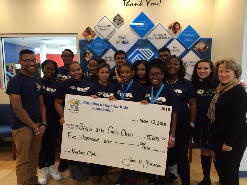boys and girls club 2015 donations