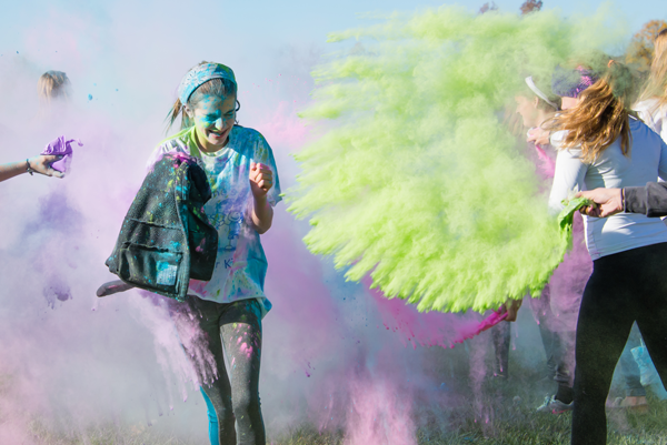 Five Years and Running Color Run